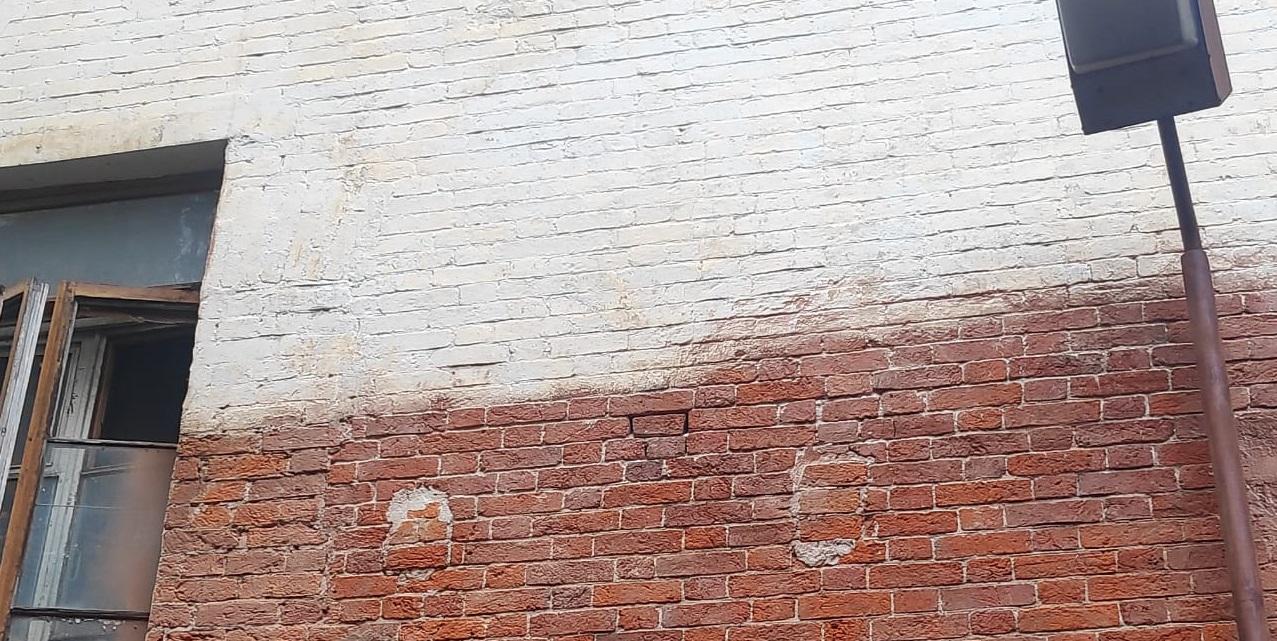 Гидроабразивная очистка фасадов зданий