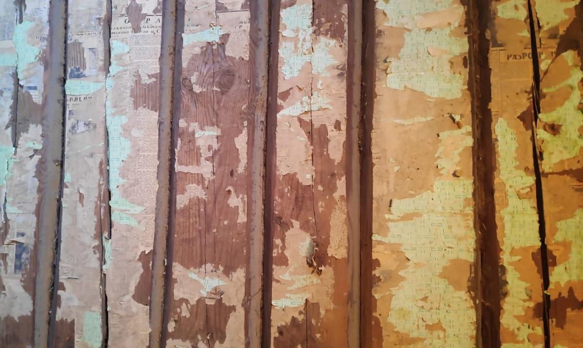 Реставрационная очистка деревянного дома IVIII века