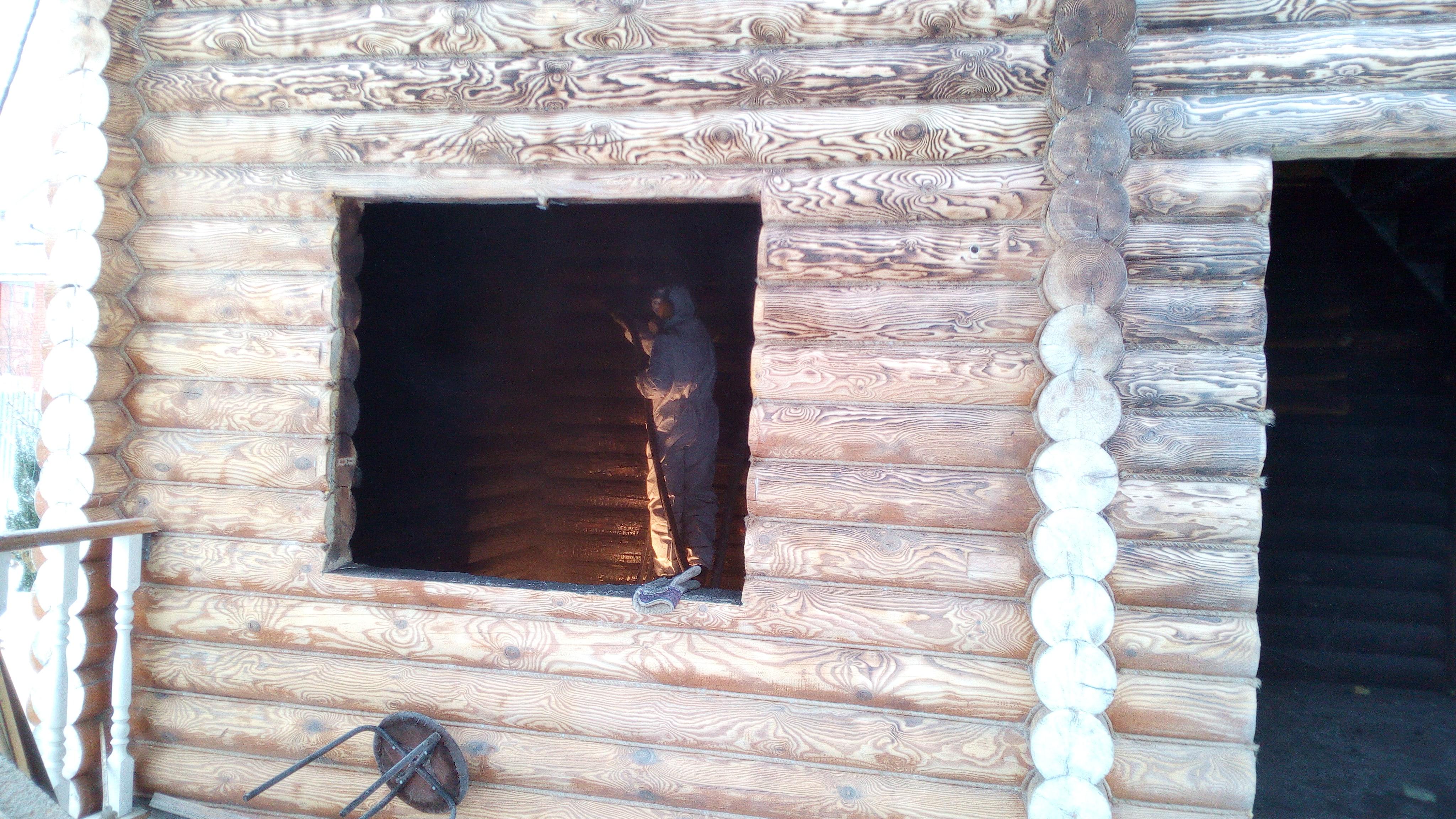 Восстановление после пожара деревянного дома