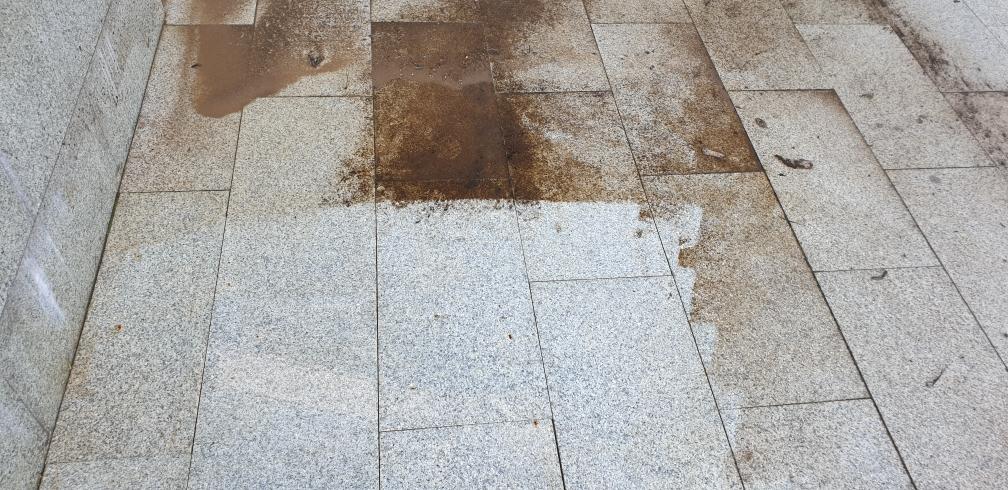 Очистка гранитной плитки