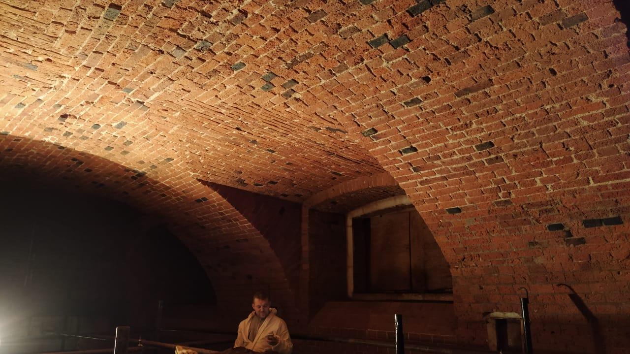 Реставрация кирпичных стен по лофт